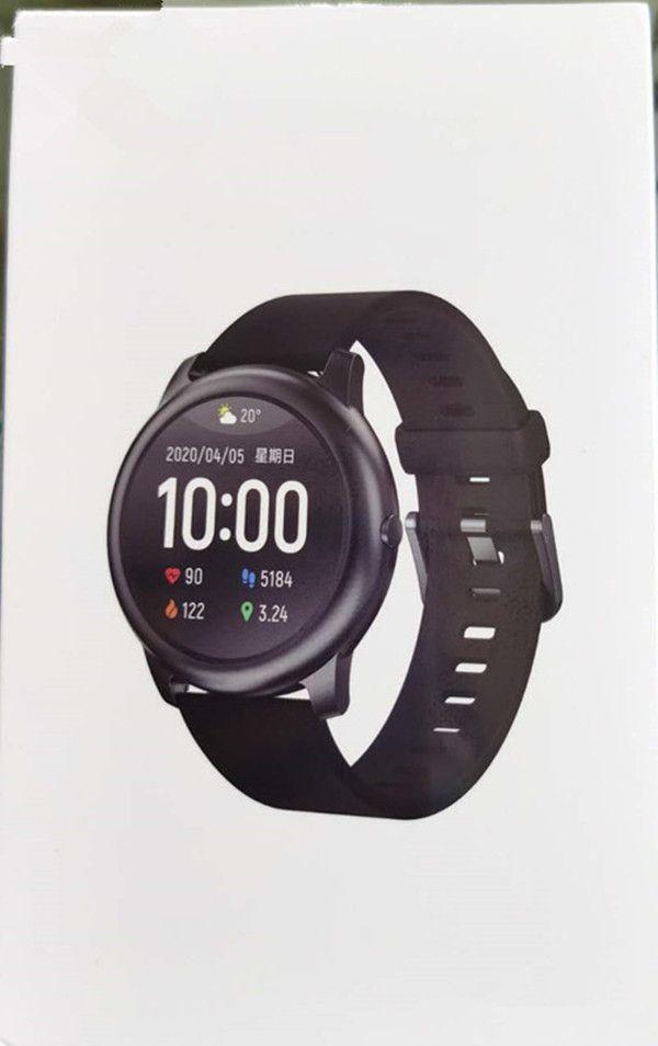 Best Heart Rate Monitor Watch 2021 2021 Free Ship Haylou Solar LS05 Smart Watch Sport Metal Round