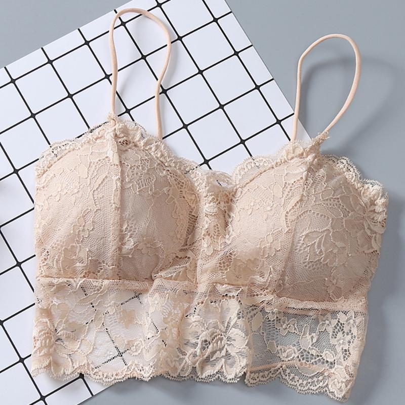 Moda Mulheres Sexy Vest Have A Chest Pad Vestindo Sports Tempting Underwear lingerie feminina # il