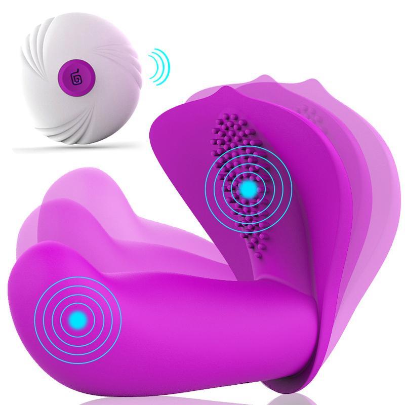 Vibrating Remote Control G-spot Vibrator Clit Massage Vagina Dildo Clitoris Stimulation Adult Erotic Sex Toys For Woman Sex Shop Y19062102