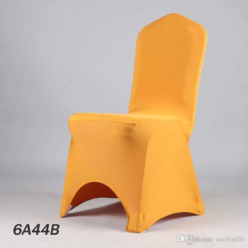 100PCS NOVO Barato 40 cores Atacado Fábrica de Lycra Jantar Seat Cover Banquet estiramento Tampa Wedding Party Cadeira Cadeira Panos 20170629 #