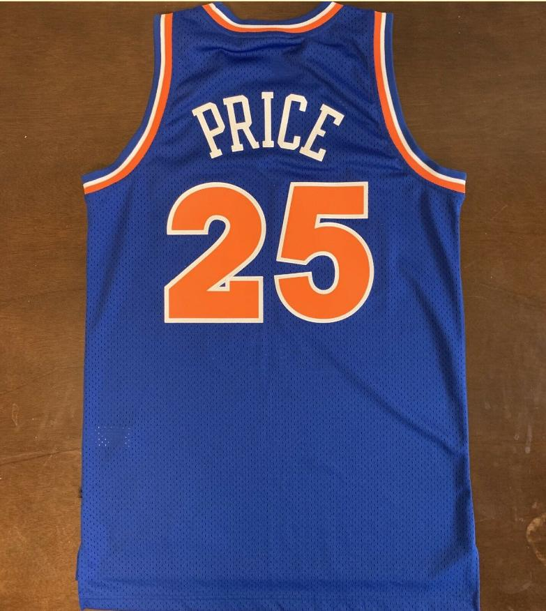 NCAA basketball #25 Mark Price Basketball Jersey HWC Throwback jersey retro blue custom double stitched embroidery big size S-5XL