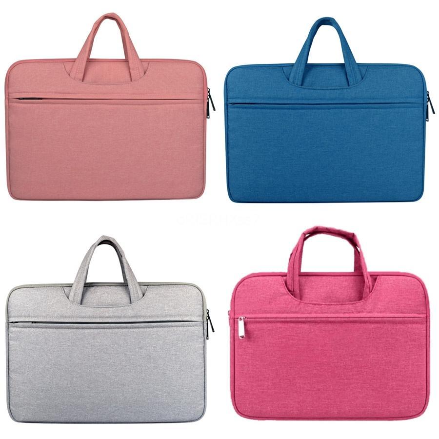 Marca Laptop borsa grande capacità di Uomini Donne Travel Cartella Bussiness borse per notebook Per 14 15 MacBook Pro # 254