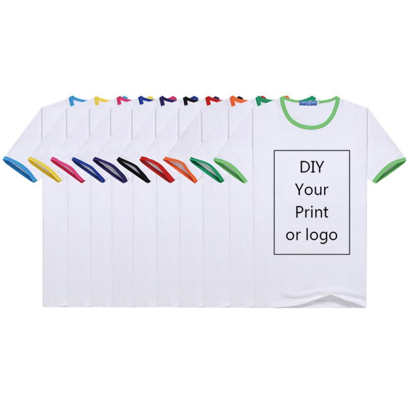 T 셔츠 남성은 DIY 인쇄 사용자 정의 귀하처럼 사진이나 로고 화이트 탑 티셔츠 여성과 아이의 의류 모달 T 셔츠 크기 S-4XL
