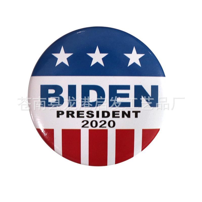 E.U.A. Forme Fly Biden Badges Drapeau Biden Badge Drapeau Lapal Pin Sur Sac à dos pour les vêtements Pins Xy0053 # 970