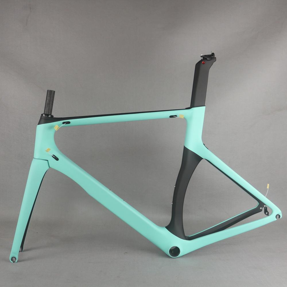 Toray Light Modulus carbon Fiber T700 BB86 custom paint max tire 700X25c carbon road bike frame TT-X2