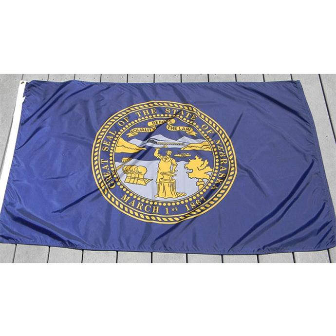 Nebraska Flag 3x5, National 90% Bleed 68D Screen Printing , Hanging All Countries ,from professional manufacturer of flags and banners
