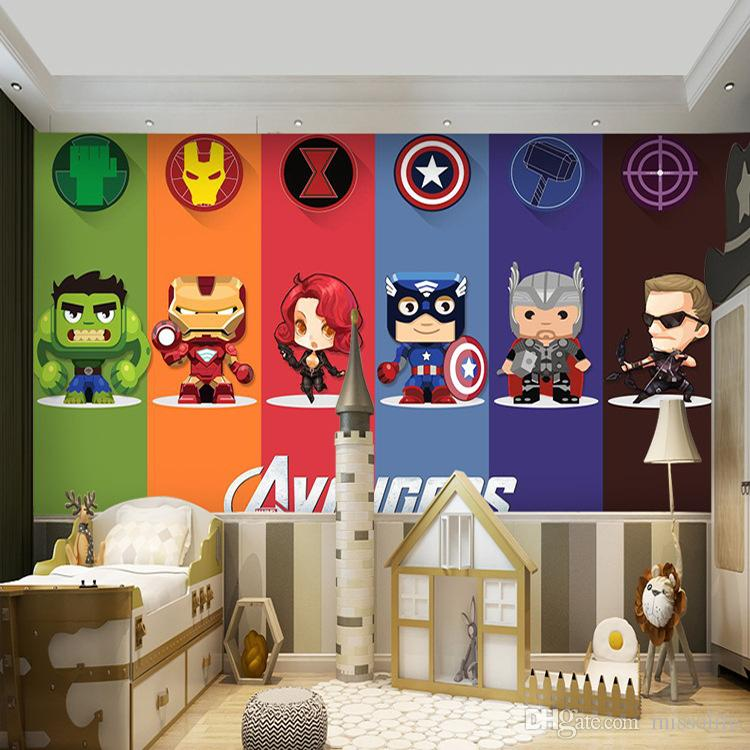 Cartoon 3d Wallpaper Murals For Kids Childrens Room Boys And Girls Bedroom Living Room Decoration Background Wall Stickers Wall Decals And Stickers Wall Decals Art From Missolife 16 61 Dhgate Com