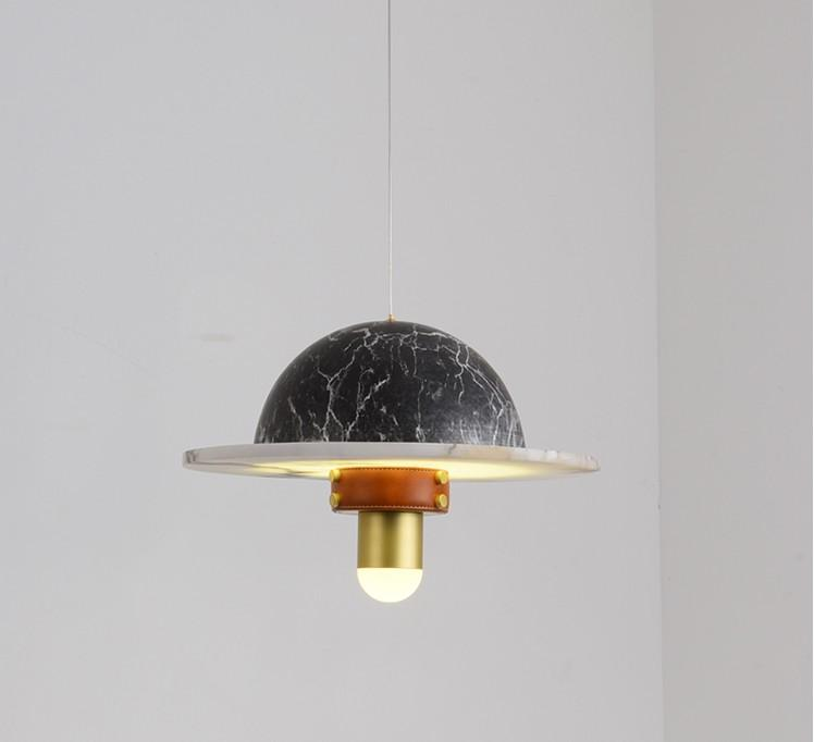 magasin post-moderne vêtements lampe créative pendentif bar modèle de chambre design restaurant nordique pendentif cosmique LLFA lumières