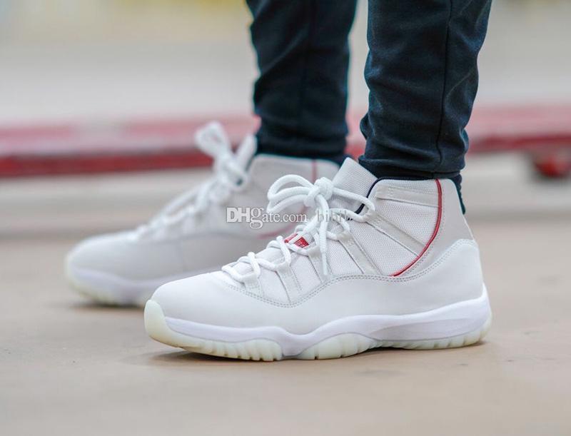 Concord 45 Jumpman 11 11s Chaussures enfants Mens Basketball Platinum Tint ET CAP GOWN ROSE D'OR BLEU GAMMA hommes Bred femmes chaussures de sport