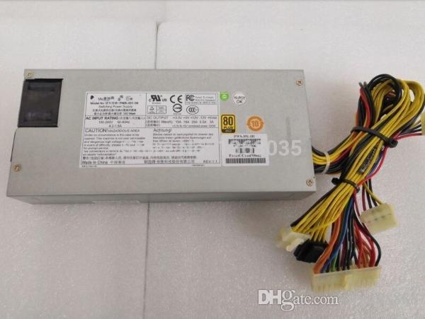 100% probado Trabajo perfecto para EMS DHL PWS-351-1H 1U 350W Fuente de alimentación del servidor