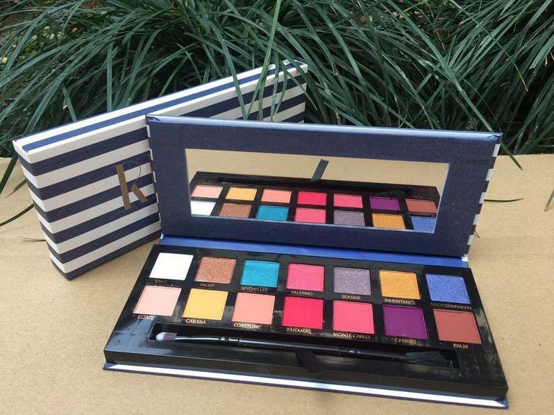 Бесплатная доставка ePacket новый макияж глаза новые поступления горячая палитра теней для век 14 цветов палитра теней для век!