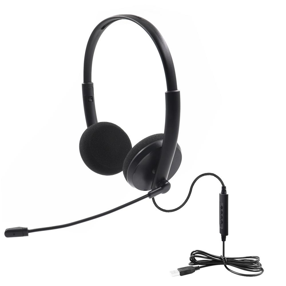 Tx1091 Usb Headset With Microphone Noise Cancelling Computer Pc Headset Lightweight Wired Headphones For Pc Laptop Mac School Kids Good Headphones Headphone Jack From Top01 Electronics 8 48 Dhgate Com