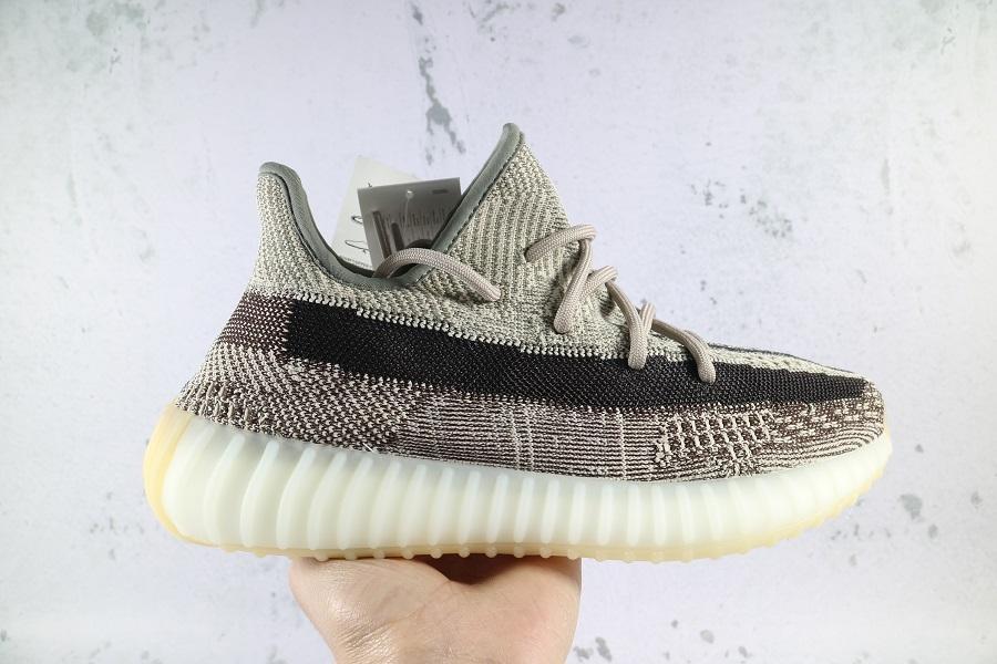 2019 V2 Kanye 35O de presse West New chaussures de course de couleur Hommes Femmes statique Clay Sésame véritable forme de chaussures Hyperspace