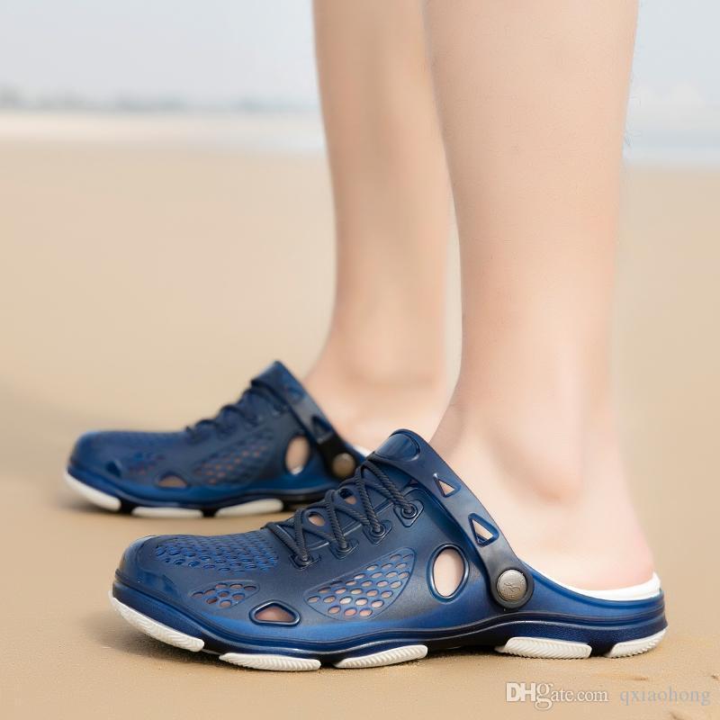 high quality Designer Sandals Summer Stripped Slippers Men Flip Flops Summer Beach Rubber Shoes Male Flats Sandals Black Blue Army Green