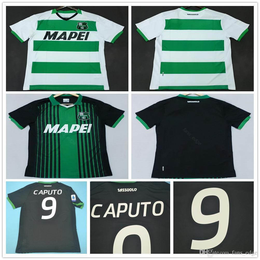 2019 Sasoro futbol forması 19 20 Unionrtiva 9 CAPUTO MARLON BERARDI Sassuolo Calcio SRL Casual LOCATELLI özelleştir formalarını