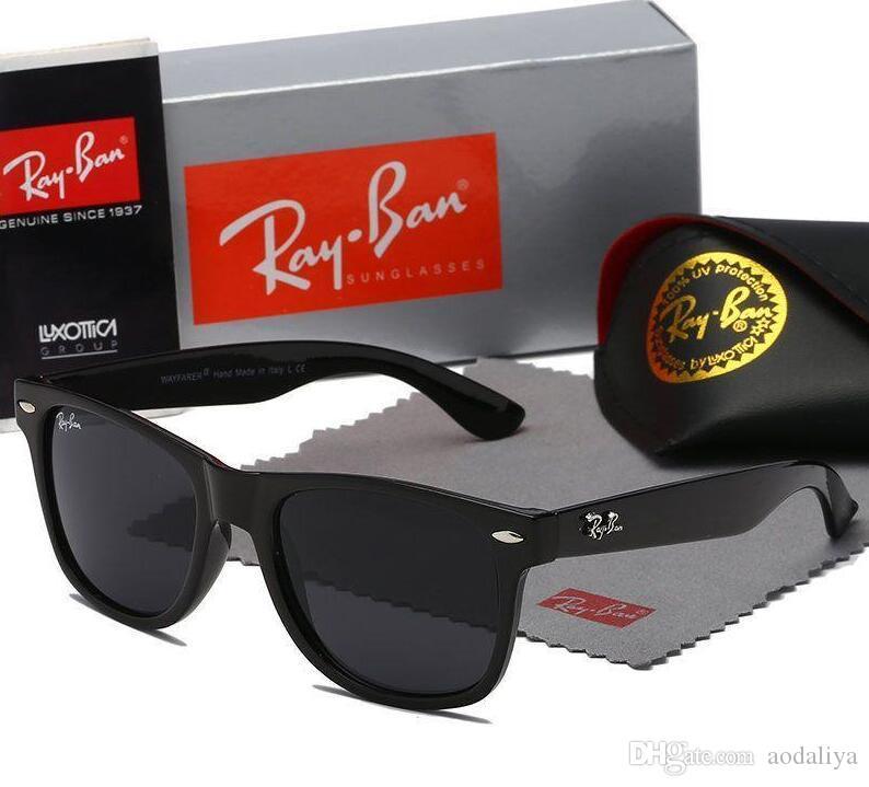 2019 Marken-Designer Sonnenbrillen für Männer Frauen Mode Sonnenbrillen Persönlichkeit Trend Reflektions-Beschichtung Brillen Multi-Color optional heißen Verkauf