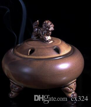 Ceramic dish incense burner room aromatherapy stove bedroom antique tower incense burner agarwood sandalwood furnace small incense