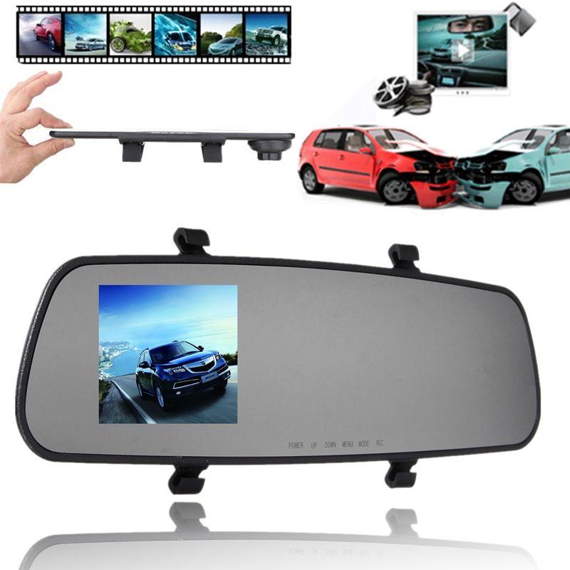 Freeshipping 2.4 Inch 720P HD TFT Car DVR Vehicle Camera Lens Video Recorder Dash Cam G-sensor Night Vision Parking Video Recorder