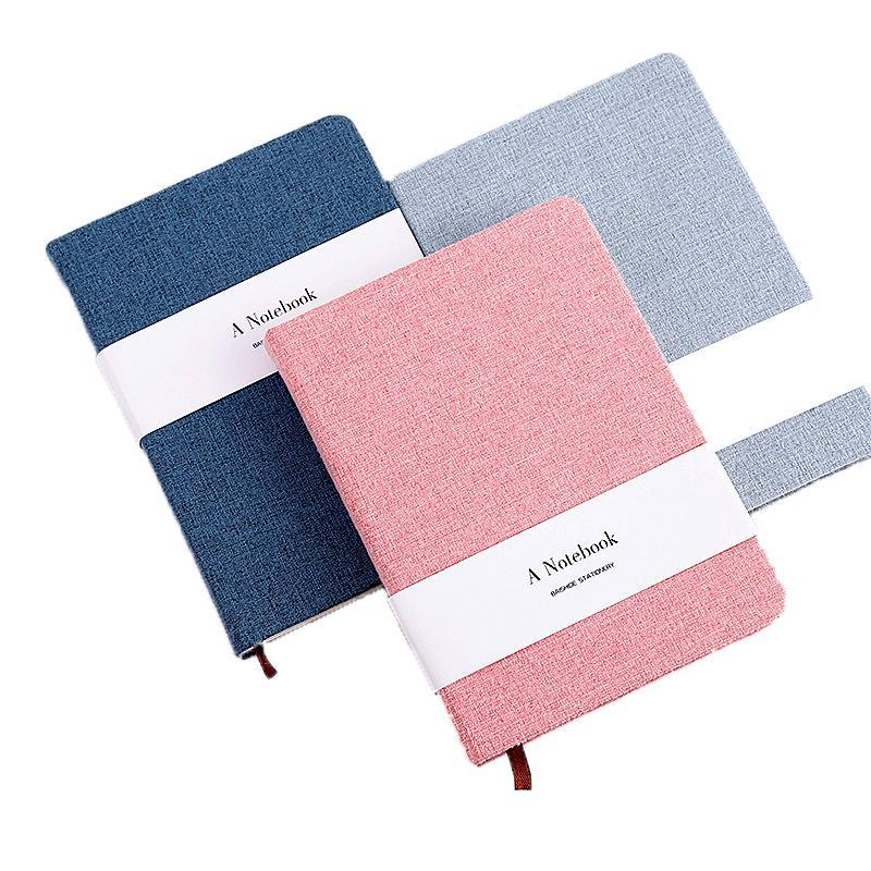 A5 A6 simples Pure Pano Cor Mão livros em branco páginas relacionadas ao Horizontal Notebook Escola Stationery Office Diary Book