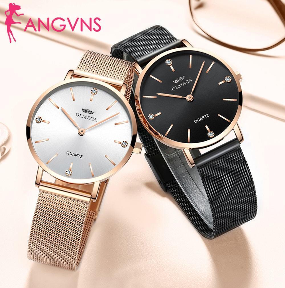 Лучший бренд роскошные часы мода Relogio Feminino наручные часы водостойкие женские часы прямая поставка спортивные часы