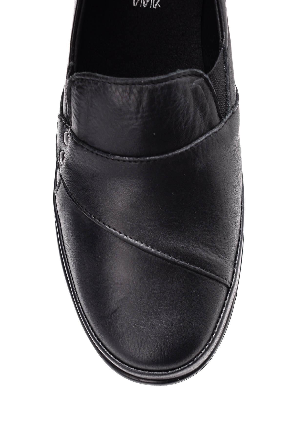Derimod cuero auténtico Negro de las mujeres Zapatos