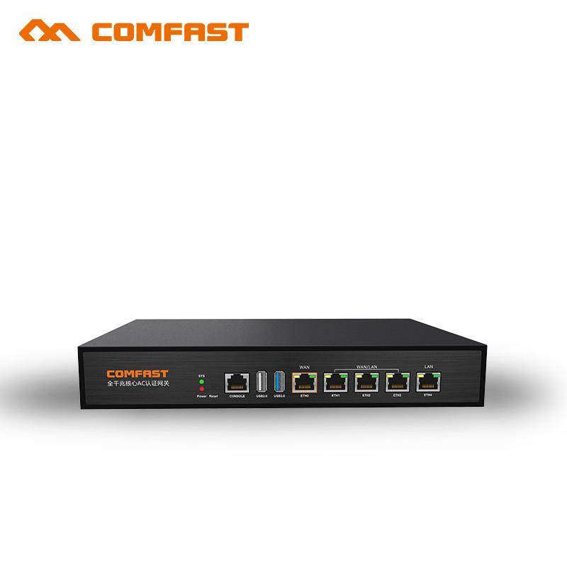 COMFAST Gigabit AC autenticazione Gateway Routing MT7621 880MHz Multi WAN Bilanciamento del carico di progetto wifi Nucleo Gateway router CF-AC100