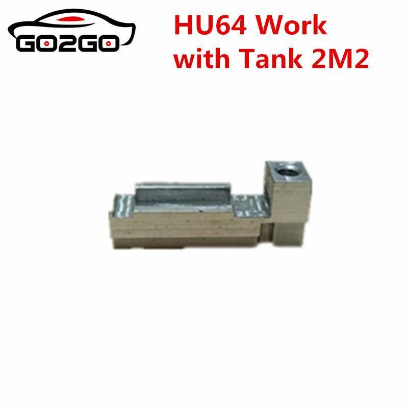 Fixture HU64 clé Clamp Vw pour la voiture automatique 2m2 magique réservoir clé machine de coupe