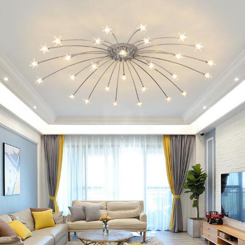 2020 Gypsophila Ceiling Chandelier Modern Simple Design Living Room Restaurant Bedroom Creative Fashion Led Lighting Fixtures 110v 220v From Warriors007 106 29 Dhgate Com,The Cast Of Designated Survivor
