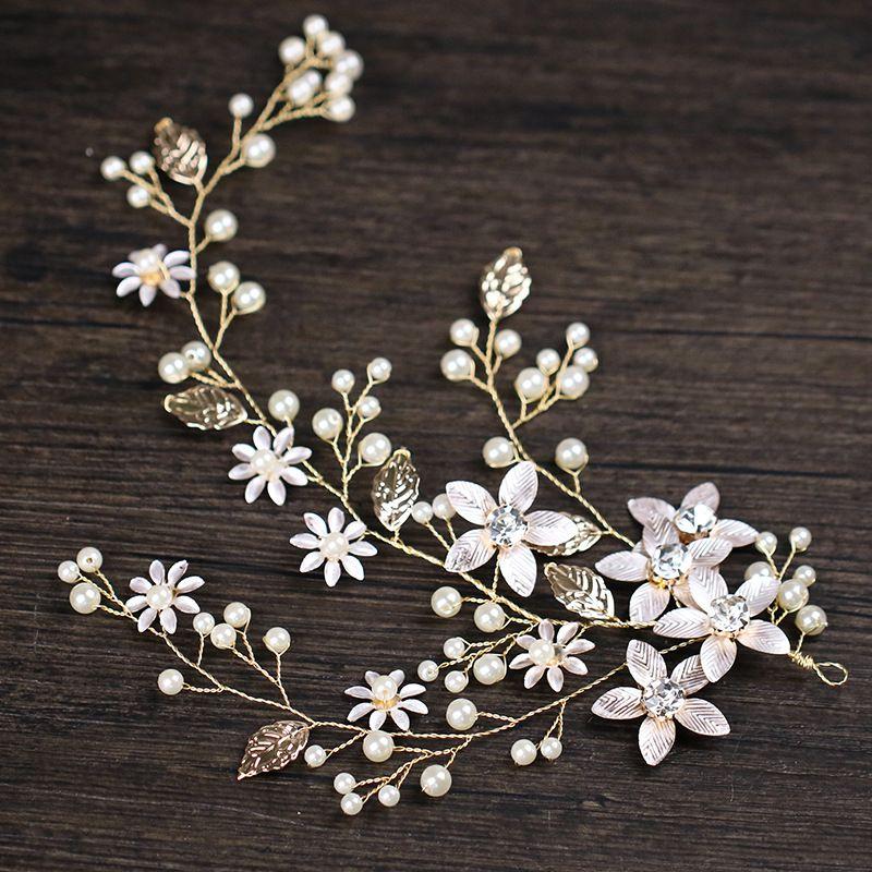 Fashion Bridal Hair Accessories Pearl Flower Hair Stick Pin Wedding Wedding Pin