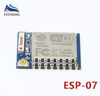 Livraison gratuite ESP8266 10PCS / lot ESP8266 ESP-01 ESP-01S ESP-07 ESP-12E ESP-12E module émetteur-récepteur sans fil série sans fil WIFI