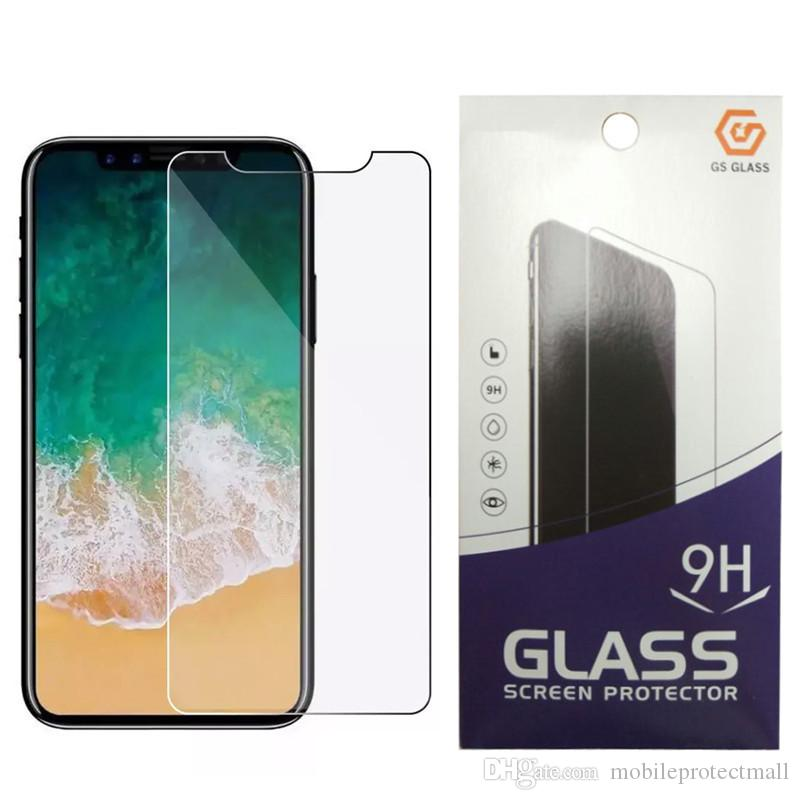 iphone 11 pro xs max Şeffaf Anti çizik temperli cam Ekran Koruyucu iPhone 11 PRO 2.5d net ekran koruyucusu
