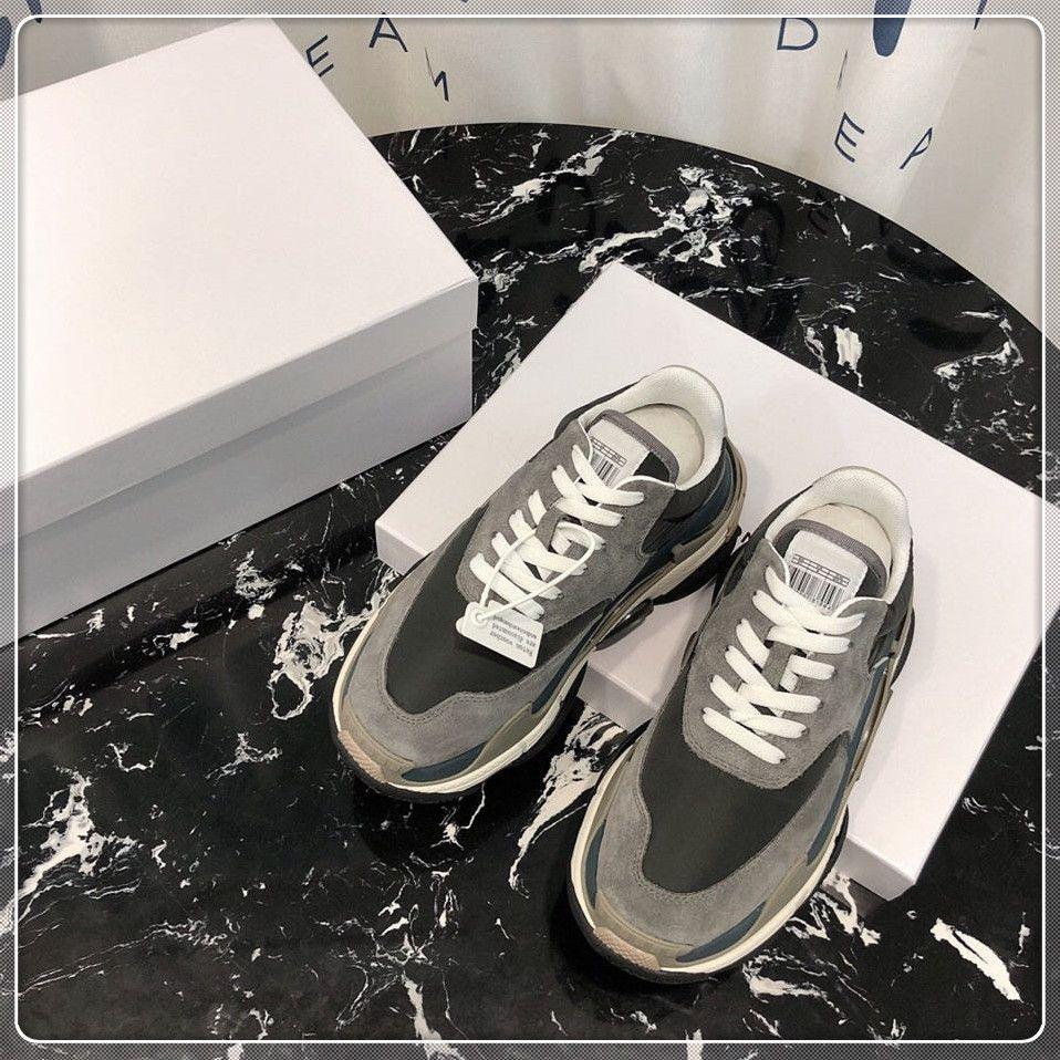 lz 2019 Papa Chaussures designer de luxe Confort Casual Chaussures Mens Daily Lifestyle Chaussure De Skateboard Faire Vieux Sports chaussures Marche Baskets