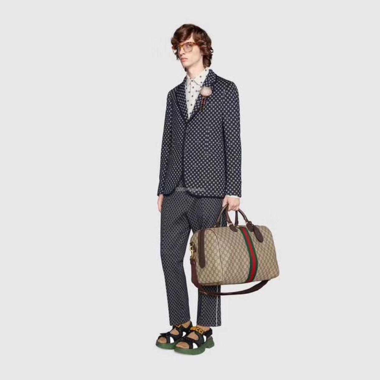 2020 Moda de asas marrón bolsas de función de varios hombres monederos de los bolsos de alta calidad bolsa de mano Negro francés de lona unisex de las mujeres 010502 010607