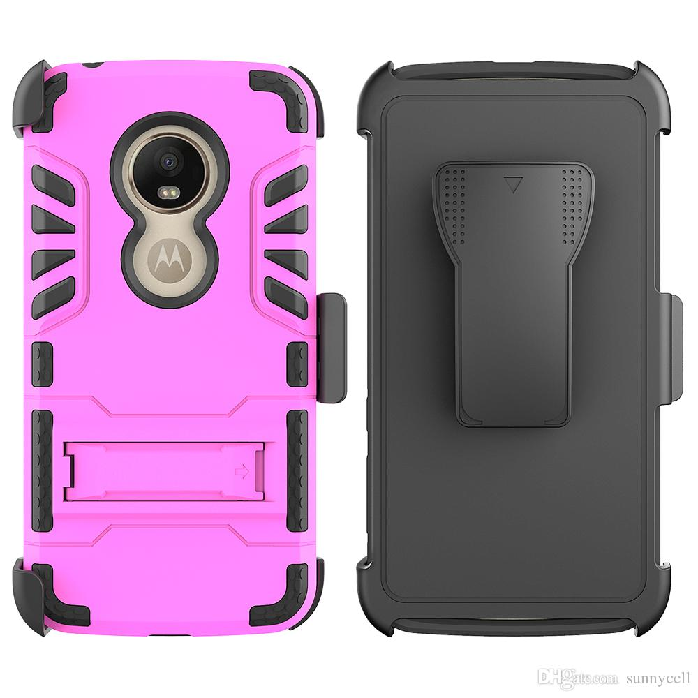 For Alcatel 7 Folio Revvl Fierce 4 One Touch Idol 3 XL One Plus 6T Belt Clip IVI Combo With Kickstand Holster Protective Phone Cover Case