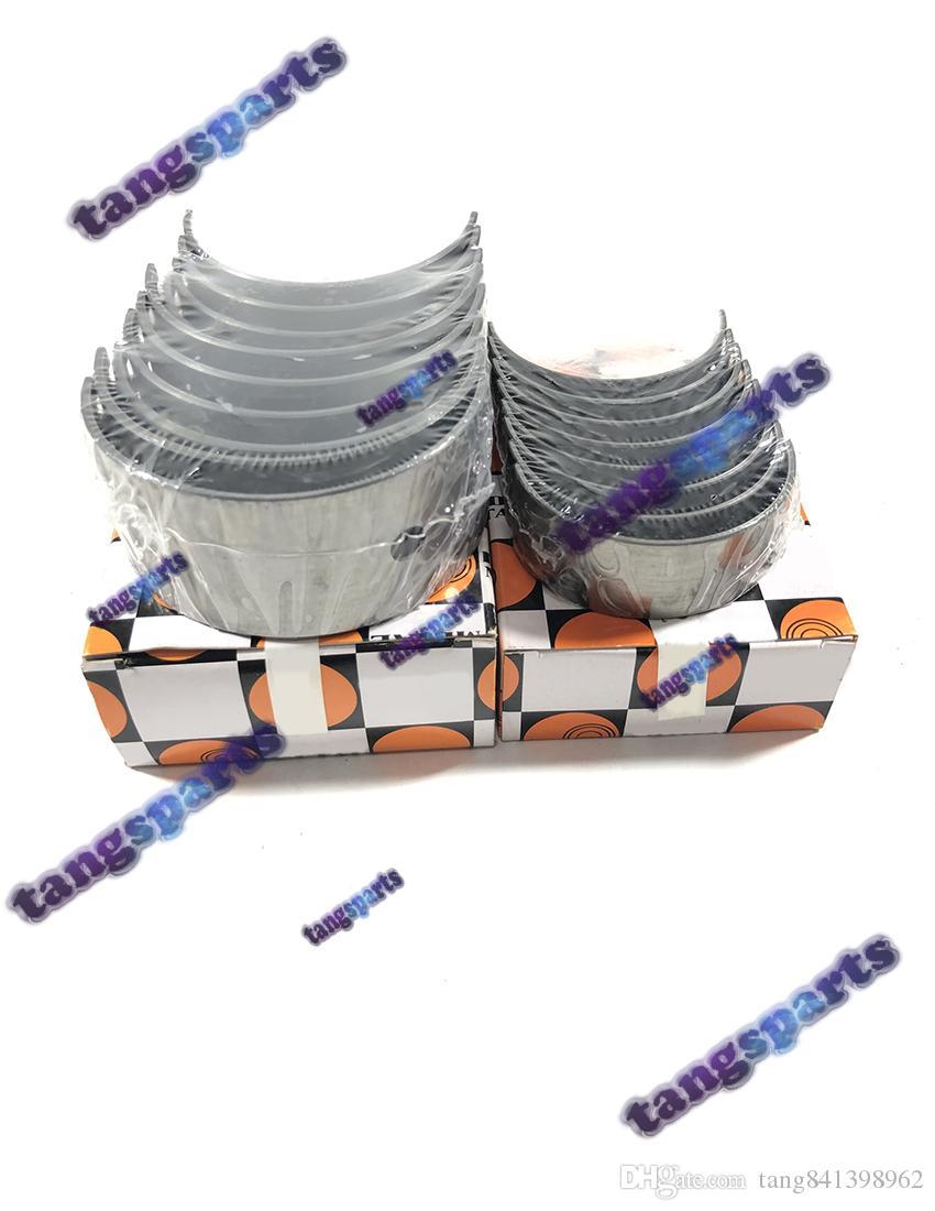 C240 Cojinetes principales cojinetes de biela para ISUZU carretilla elevadora excavadora camioneta topadora, etc. kit de piezas de reconstrucción del motor