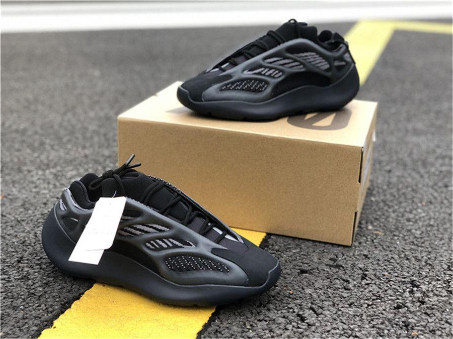 2020 Аутентичные Boots 700 V3 Alvah H67799 кроссовки Мужчины Женщины Azael FW4980 Glow In The Dark Kanye West Sports с оригинальным Box