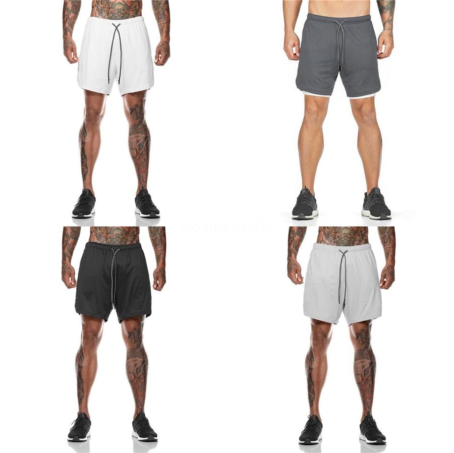 Summer Mens Casual Shorts Solid Color Loose Fit Shorts For Men Knee Length Mens Shorts Cx200622 #517