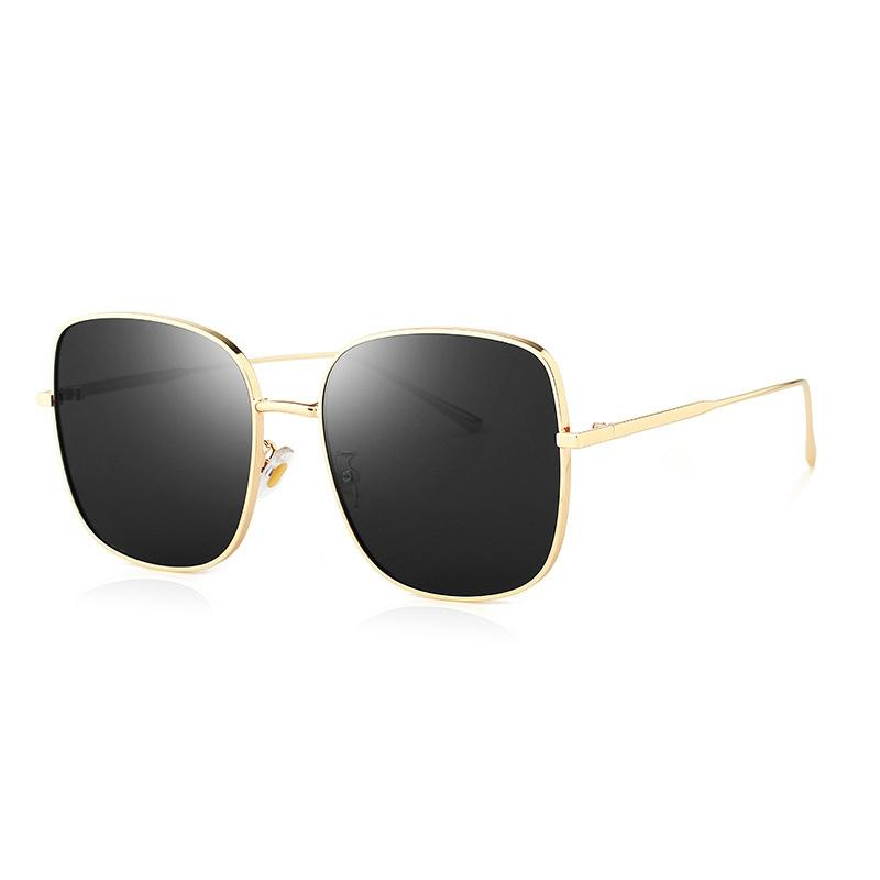 Aluminum Magnesium Photochromic Sunglasses Polarized Night Vision Anti-Glare Glasses Men Driver Yellow Gray Change Driving Glass#804