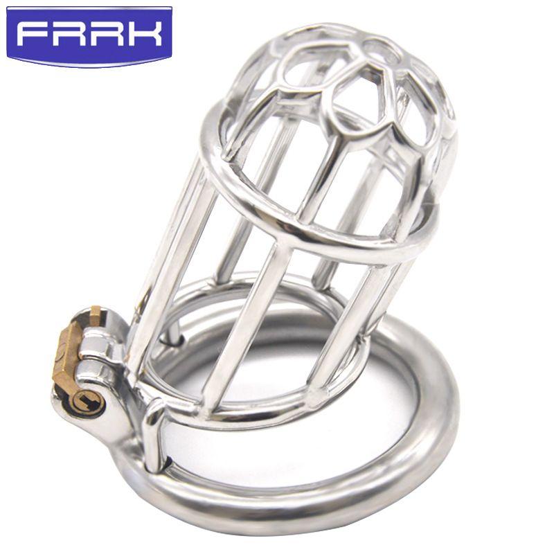 Легко писать дизайн устройства полная длина 75 мм металлический петух клетка 304# нержавеющая сталь целомудрие устройства для мужчин