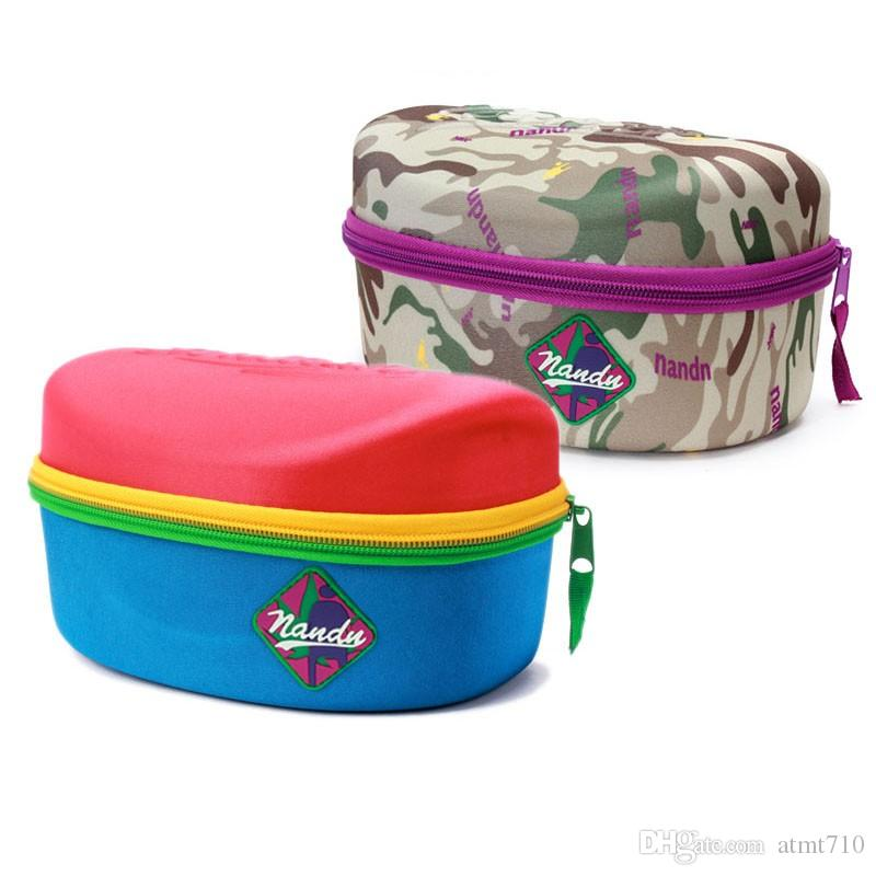 High Quality Eyewear Box Cases Sunglasses Ski Snowboard Goggles Skiing Glasses Mask Mirror Protective Hard Box 3 Colors