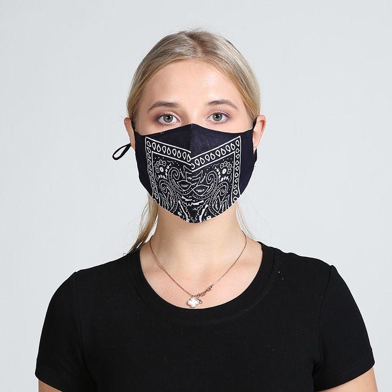 Двухслойное 5 Типы V-образные стильные маски Респиратор для мужчин и женщин Washable маска для повторного T3I5817