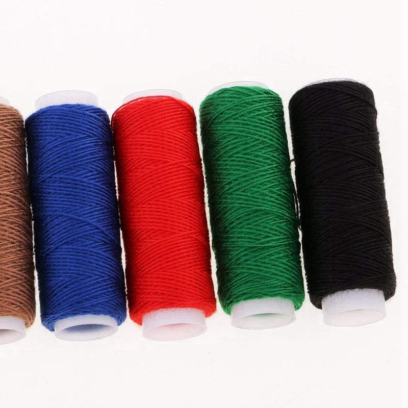 10pc white shoes bags jean thread real strong thick Sewing thread Spools thread