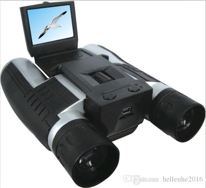 أحدث كاميرا فيديو HD 1080P تلسكوب رقمي متعدد الوظائف 4 في 1 تلسكوب مسجل فيديو DVR كاميرا الفيديو
