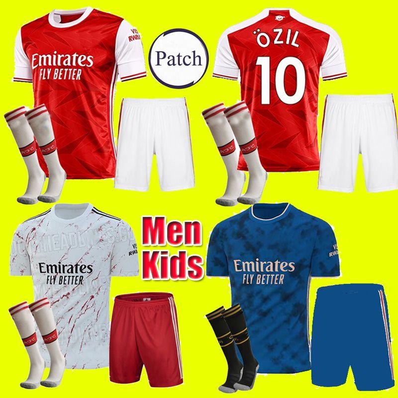 Adulti Bambini equipaggiarla 20 21 Arsen PEPE calcio maglia 2020 della camicia di calcio 2021 NICOLAS CEBALLOS HENRY GUENDOUZI TIERNEY