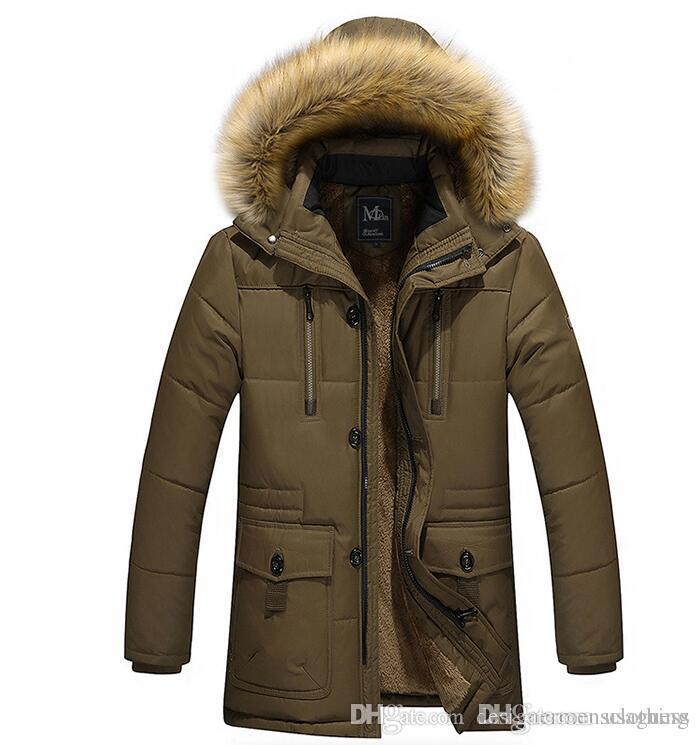Homens Inverno jaquetas Designer Grosso Coats capuz velo Anti Jacket Brasão Casual