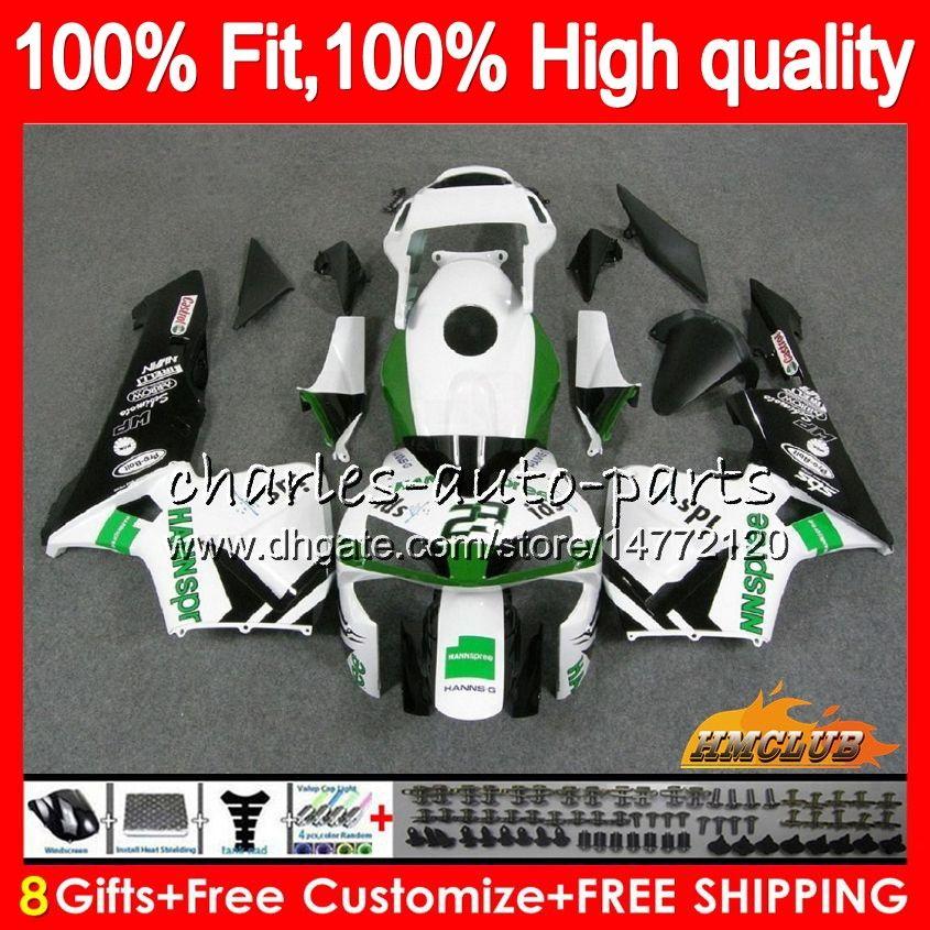Honda CBR 600RR 600F5 CBR600F5 HANNSPREE HOT CBR600 RR 03 81HC.18 CBR600RR CBR 600 RR F5 03 04 2003 2004 100%フィットフェアリング