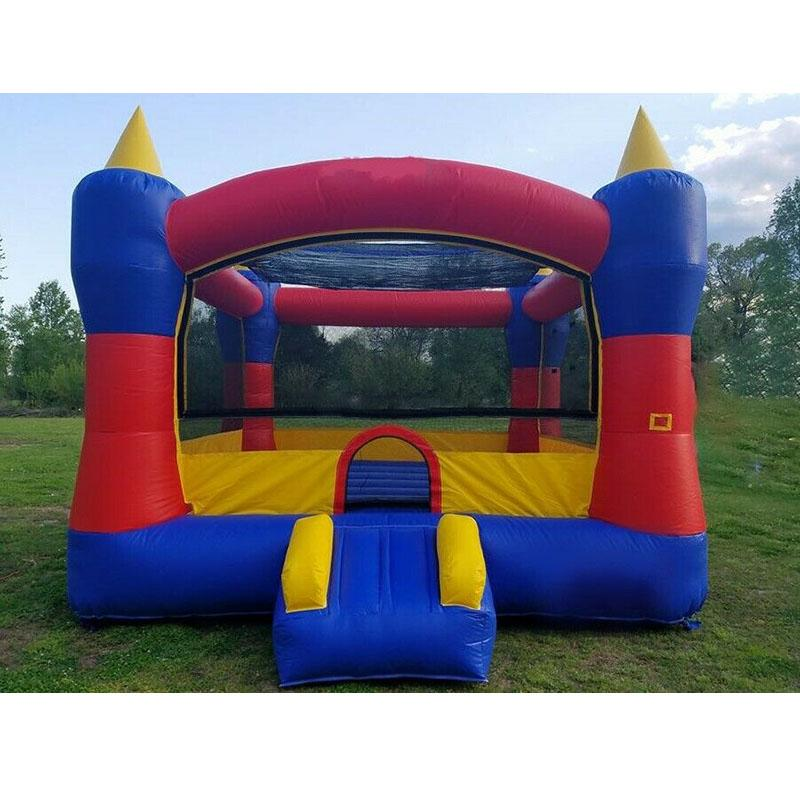 PVC Commercial Grade Inflatable Bounce House Castle 13 x 13 Magic Castle 13 Commercial Inflatable Bouncer Moonwalk for Indoor Outdoor Events