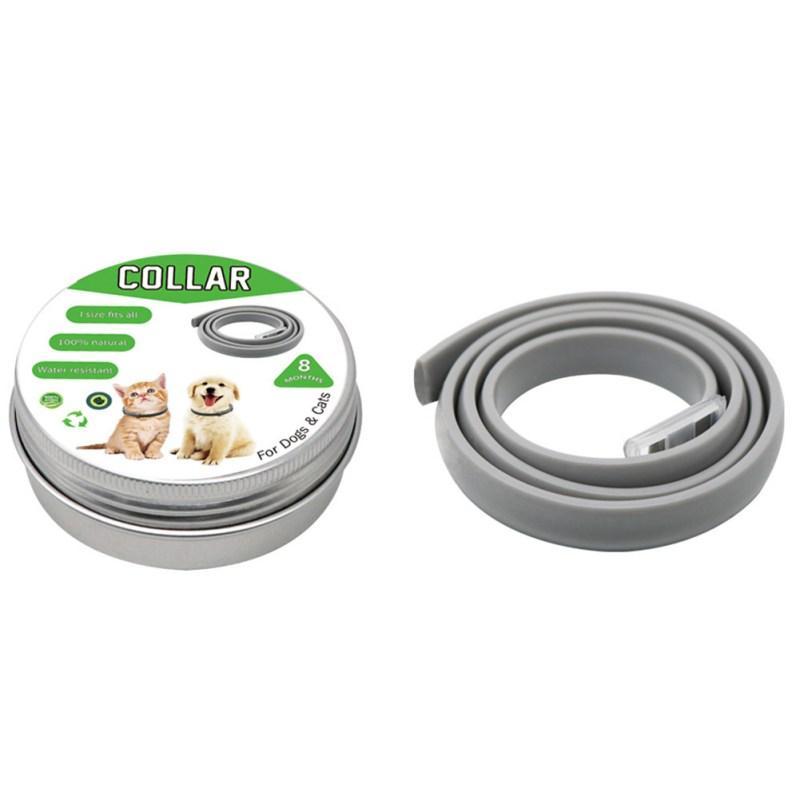Collier pour chien Collier anti-moustiques Répulsif insectes pour animaux Chiens Chats Anti puces Tiques Poux Prévient Nouveau