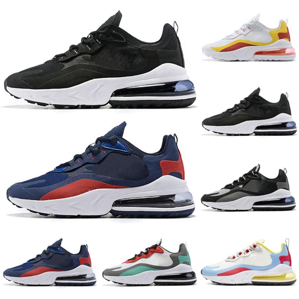 Vente en gros Chaussures de course pour Réagir Femmes Hommes Chaussures Bauhaus Bauhaus optique multi-couleurs Hommes Formateurs Outdoor Sports Athlétiques Sneakers 40-46