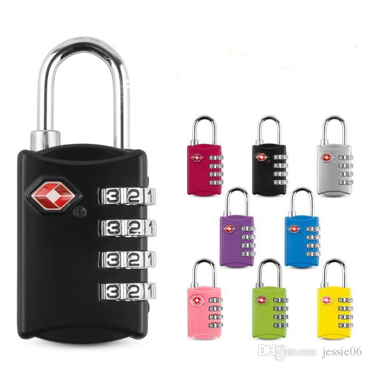 Security Padlocks Code 3 //4 Digit Combination Lock Door Travel Luggage Suitcase